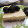 Naturally sweetened cheesecake bars