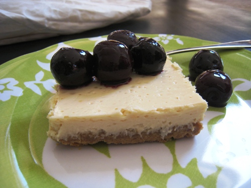 Honey Lemon Cheesecake Bars | LifeasMOM.com