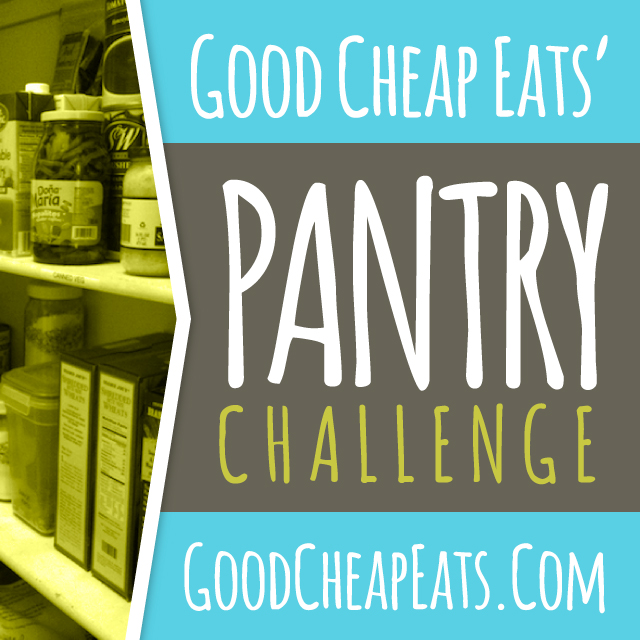 Wondering how you can squeeze a little extra out of the monthly budget? Save money with a Pantry Challenge.