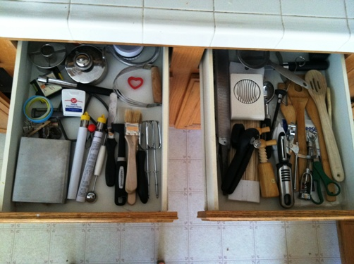 clean gadget drawers