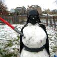 darth vader snowman