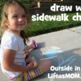 draw with sidewalk chalk