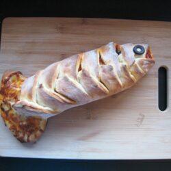 fish calzone