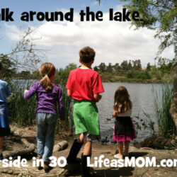 Get Out: Walk Around the Lake