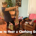 how to host a clothing exchange