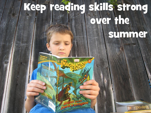 keep reading skills strong over the summer
