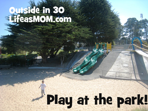 play at the park