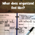 what does organized feel like