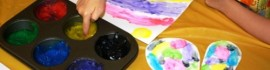 DIY Finger Paint for LAM