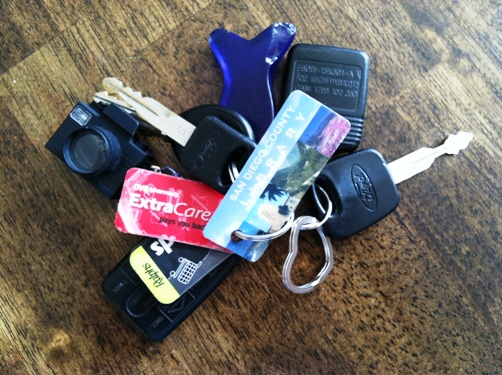 extra care key card