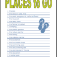 places to go checklist
