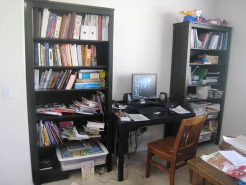 school shelves before