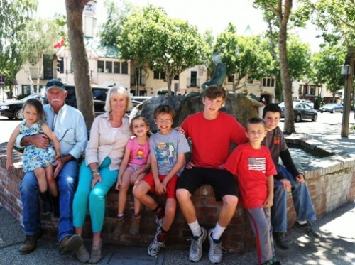 Fishkids and grandparents