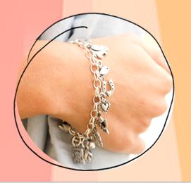 build a charm bracelet