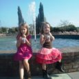 girls by the fountain