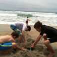 kids sand pit