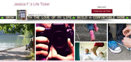life ticker