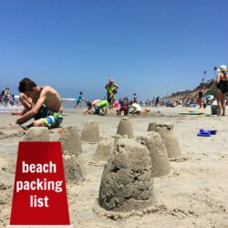 Beach Packing List Life as Mom