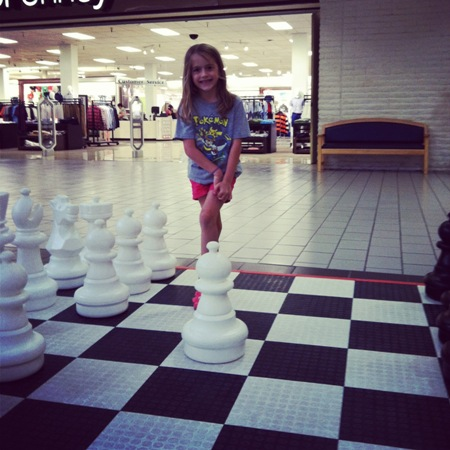 chess at the mall