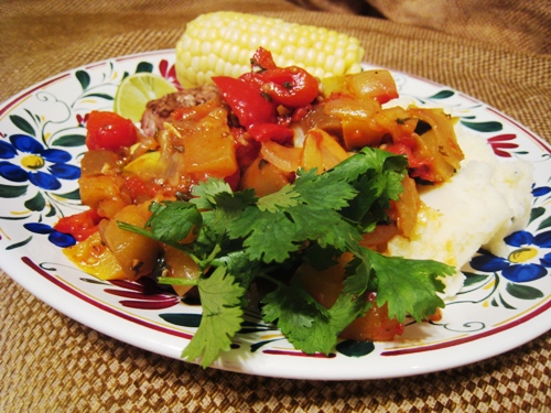 eggplant vegetable stew