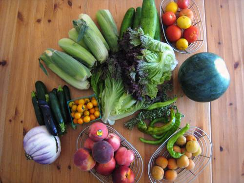 produce box pantry challenge july