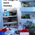 Clean out the fridge to save money