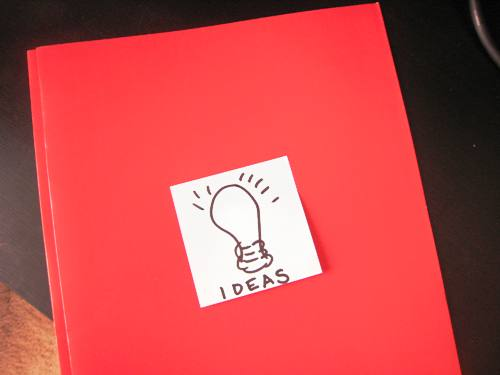 Ideas file