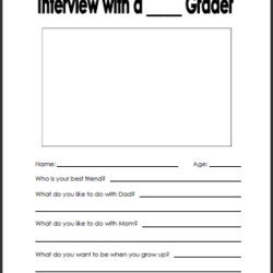 Interview Your Student for Back-to-School