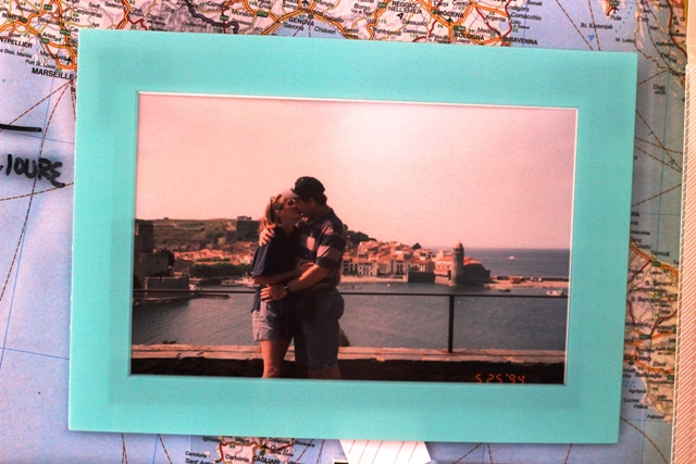 Pictures in Scotch frame