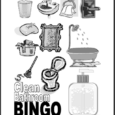 clean bathroom bingo