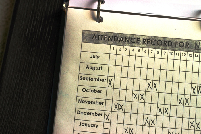 homeschool attendance record