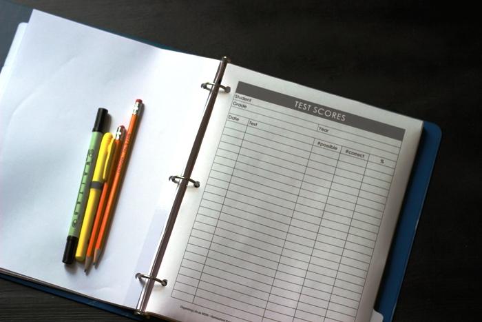 homeschool test scores