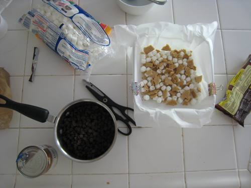 smores fudge method