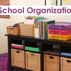 3 Homeschool (or Homework) Organizers