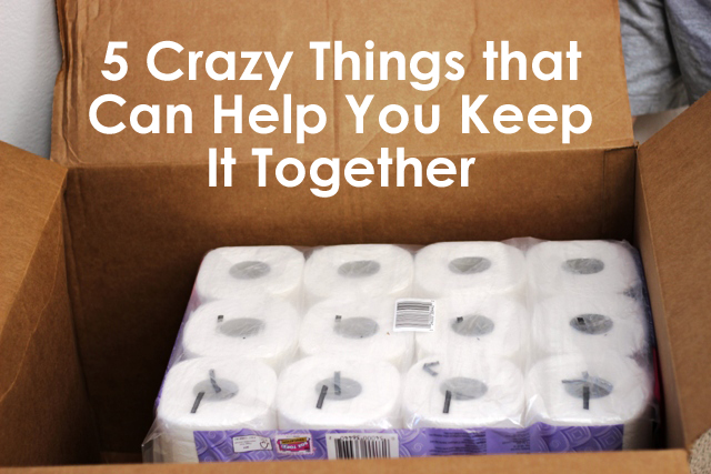 5 Crazy Things to Help You Keep it Together | Life as MOM