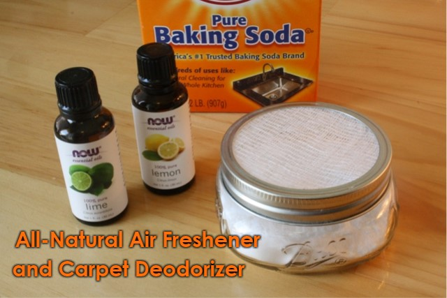 DIY All-Natural Home Air Freshener and Carpet Deodorizer