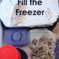 Easy ways to fill the freezer