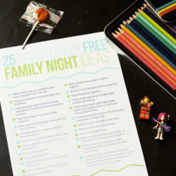 Practically Free Family Night Ideas to Try with Your Kids