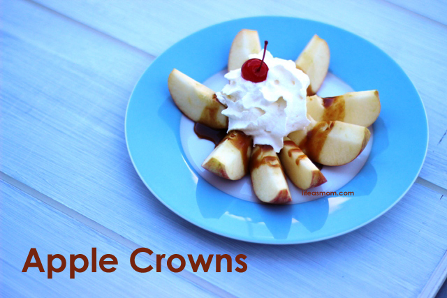 Make Caramel Apple Crowns | Life as MOM
