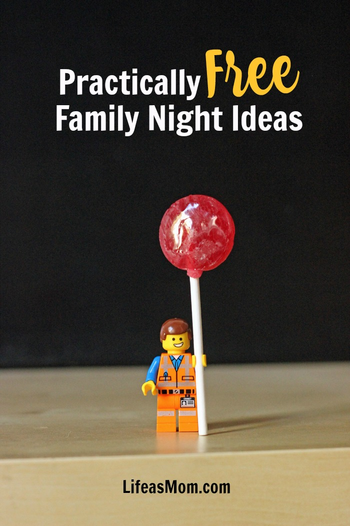 Practically Free Family Night Ideas | Life as Mom