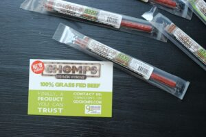 Win Healthy Snacks from Chomps