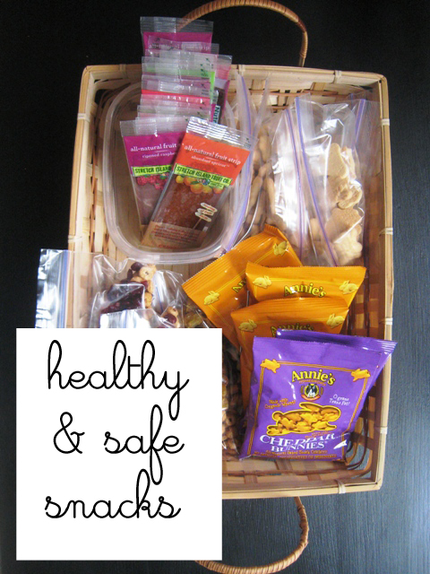 healthy and safe snacks