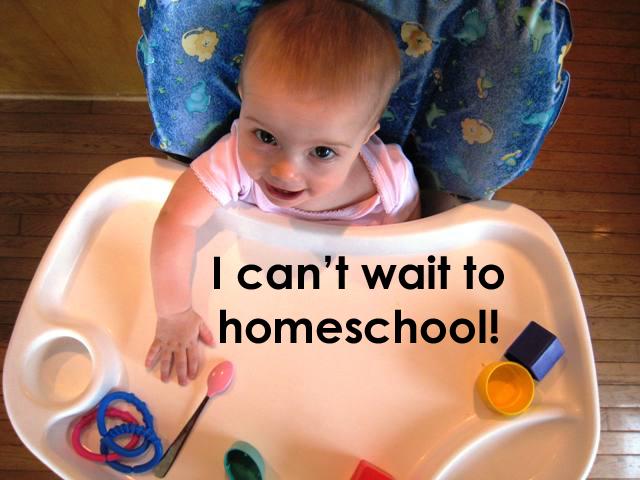 i can't wait to homeschool