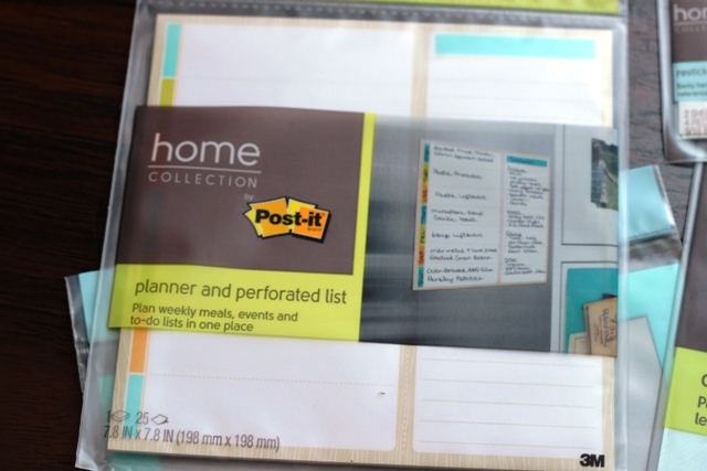 planner and perforated list