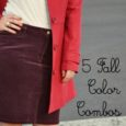 5 Fall Color Combos to Try | Life as MOM