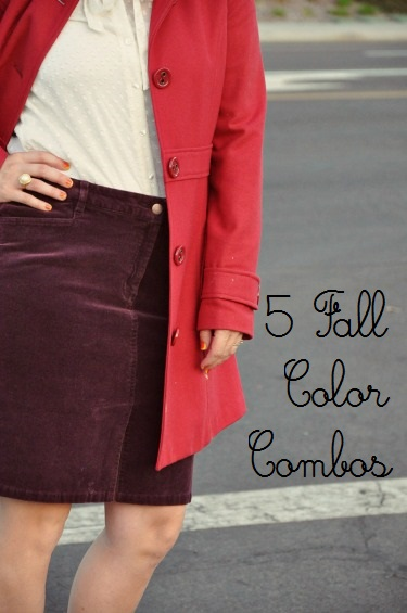 5 Fall Color Combos to Try This Fall | Life as MOM