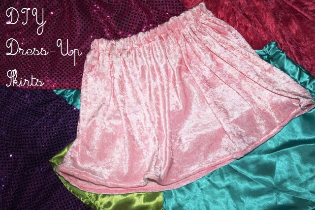 DIY Dress-Up Skirts | Life as MOM