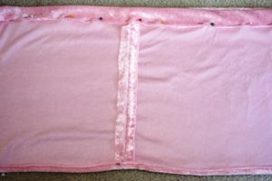 DIY Dress Up Skirt - waistband casing