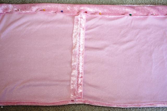 DIY Dress Up Skirt - waistband casing