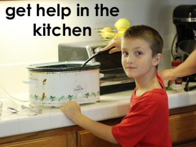 Get Some Help and Save Time in the Kitchen